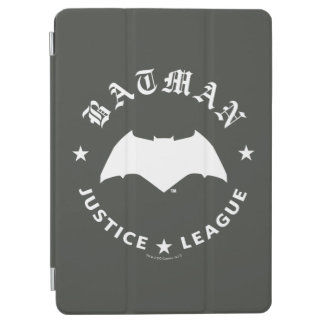 Retro Schläger-Emblem der Gerechtigkeits-Liga-| iPad Air Hülle