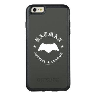 Retro Schläger-Emblem der Gerechtigkeits-Liga-| OtterBox iPhone 6/6s Plus Hülle