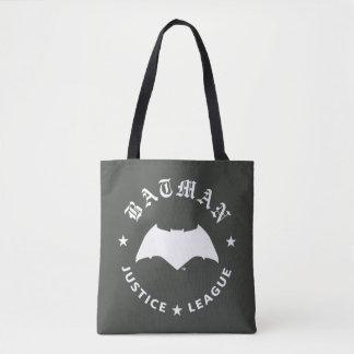 Retro Schläger-Emblem der Gerechtigkeits-Liga-| Tasche