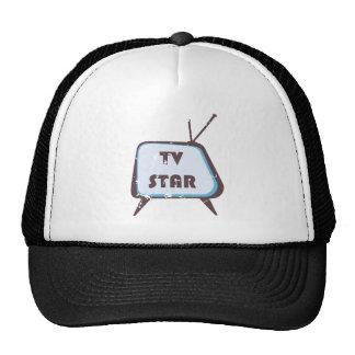 Retro Set Fernsehsternes Fernseh Baseball Caps