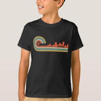 Retro Skyline Art-Rochesters New York T-Shirt