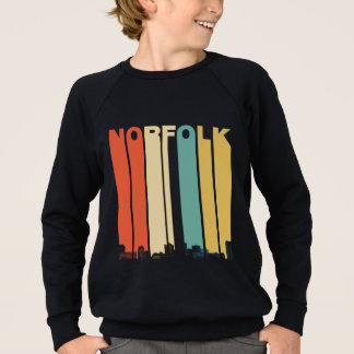 Retro Skyline Norfolks Virginia Sweatshirt