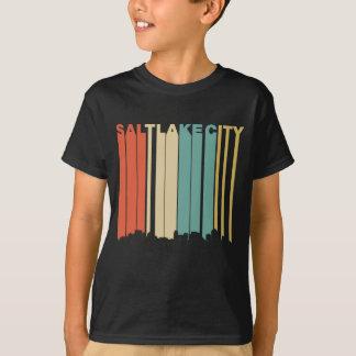 Retro Skyline Salt Lake Citys Utah T-Shirt