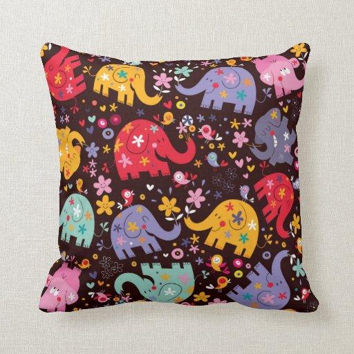 elefanten kissen elefanten dekokissen. Black Bedroom Furniture Sets. Home Design Ideas