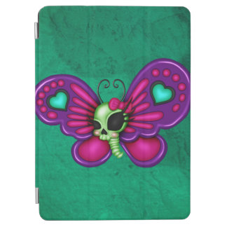 Retro Spaß-Zombie-Schmetterling iPad Air Hülle