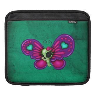 Retro Spaß-Zombie-Schmetterling Sleeve Für iPads