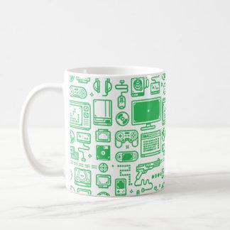 Retro Spiel-Tasse: Wählen Sie Ihr Waffen-Grün Kaffeetasse