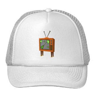 Retro Spielfernsehen Tuckercaps