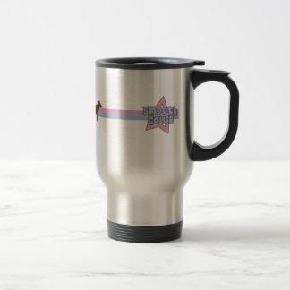 Retro Stern-glatter Collie Tee Tasse