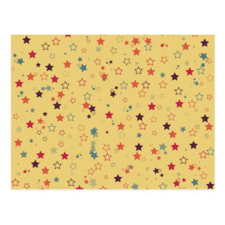 Retro Sterne Postkarten