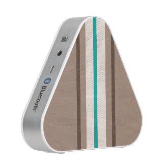 Retro surfendes Streifen-Muster Bluetooth Lautsprecher