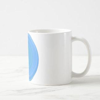 Retro Süßigkeits-Strudel in der Blaubeere Kaffeetasse