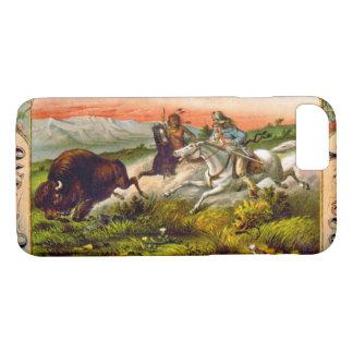 Retro Tabak-Aufkleber d 1872 iPhone 8/7 Hülle