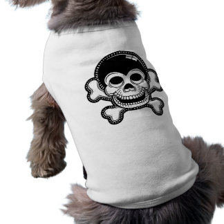 Retro Toon-Affe-Piraten-Schädel Top