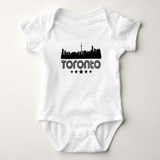 Retro Toronto-Skyline Baby Strampler