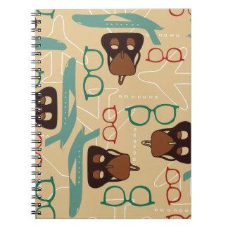 Retro travel notebook notizblock