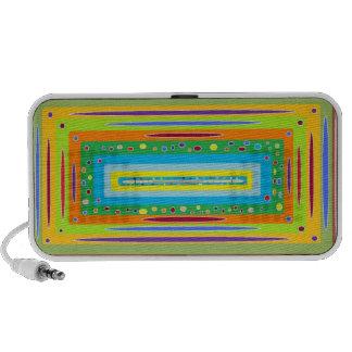 Retro trippy mobiler speaker