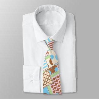 Retro Tupfen und Streifen Rockabilly Krawatte
