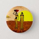 Retro Vintage Artgeschenke 24 Afrikas Runder Button 5,1 Cm