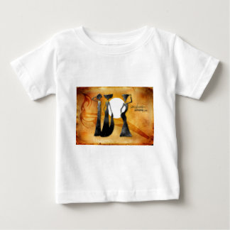 Retro Vintage Artgeschenke 28 Afrikas Baby T-shirt