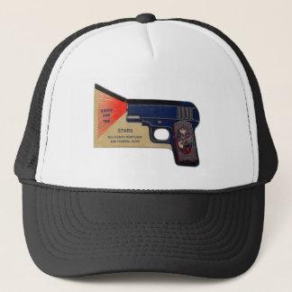 Retro Vintage Begräbnis- Molasanti Pistole des Truckerkappe