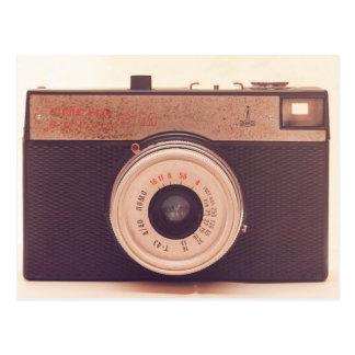 Retro Vintage Kamera Postkarte