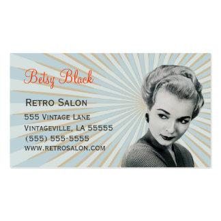 Retro Vintage Visitenkartenvorlagen