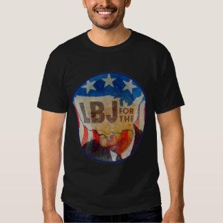 Retro Vintager Blitzgeber-politischer Knopf des T-shirt