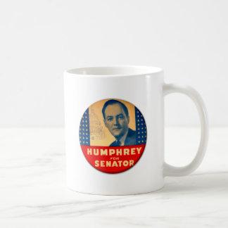 Retro Vintager Kitsch Humphrey für Senats-Knopf Kaffeetasse