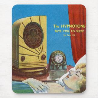 Retro Vintager Kitsch Hypnotize Hypnotone Maschine Mousepad