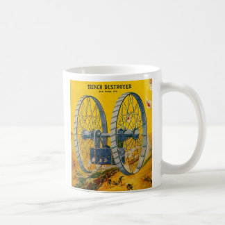 Retro Vintager Kitsch-Masse Sci Kaffeetasse