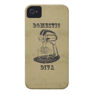 Retro Vintager kitschy lustiger Druck der Case-Mate iPhone 4 Hülle