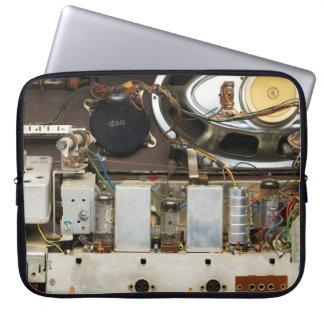 Retro Vintager Rohr-Radio Laptop Sleeve
