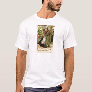 Retro Vintages deutsches Soldat-Weihnachten T-Shirt