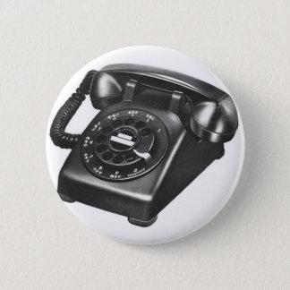Retro Vintages Kitsch-Telefon-Modell 500 Dreh Runder Button 5,7 Cm