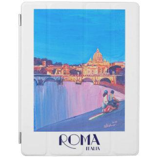 Retro Vintages Plakat Roms Italien iPad Hülle