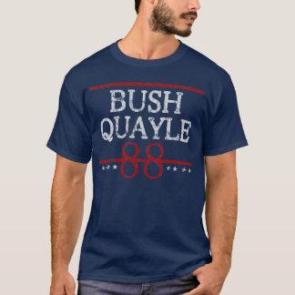 Retro Wahl Bushs Quayle 88 T-Shirt