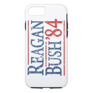 Retro Wahl Bushs Reagan 84 iPhone 8/7 Hülle