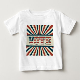 Retro wählengang baby t-shirt