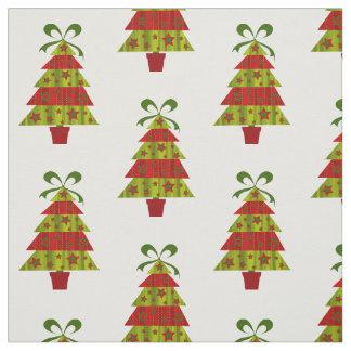 Retro Weihnachtsbaum Stoff