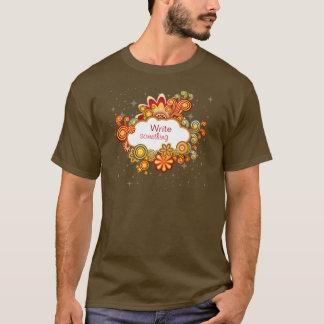 Retro Wolken-Shirt T-Shirt