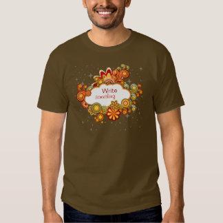 Retro Wolken-Shirt T-Shirts