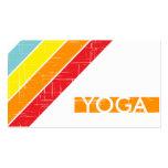 Retro YOGA Visitenkarten