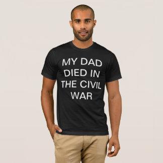 Retro ziviles Kriegs-T-Stück T-Shirt