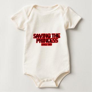Retten der Prinzessin Baby Strampler