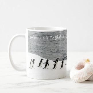 Retten Sie Adélie Penguins durch RoseWrites Kaffeetasse