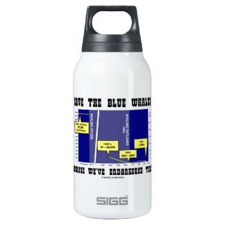 Retten Sie Blauwale, weil wir sie gefährdet haben Thermoflaschen