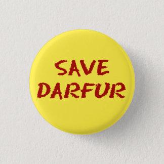 Retten Sie Darfur Miniknopf Runder Button 2,5 Cm
