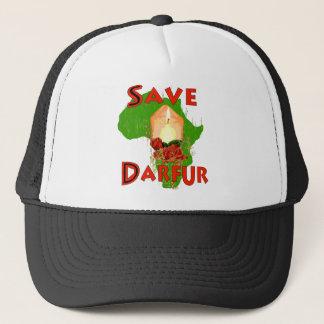 Retten Sie Darfur Truckerkappe