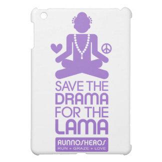 Retten Sie das Drama für den lila Lama - iPad Mini Hülle